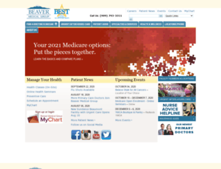 beavermedicalgroup.com screenshot