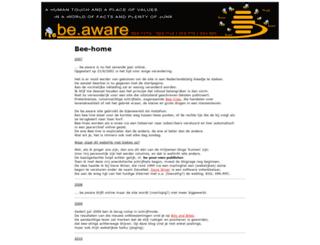 beaware.be screenshot