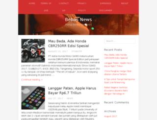 bebasnews.com screenshot