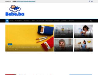 bebe.ba screenshot