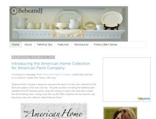 bebeandj.com screenshot