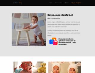 bebeblog.com.br screenshot