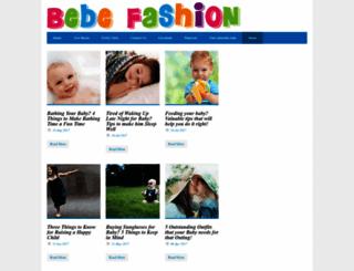 bebefashion.com screenshot