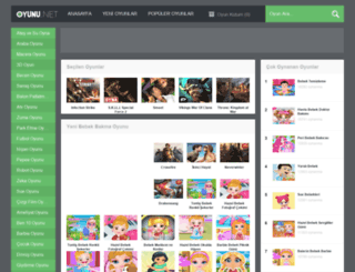 bebekbakma.oyunu.net screenshot