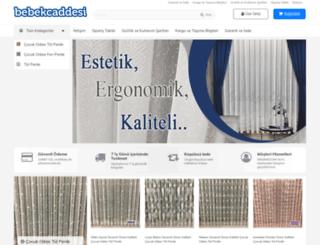 bebekcaddesi.com screenshot