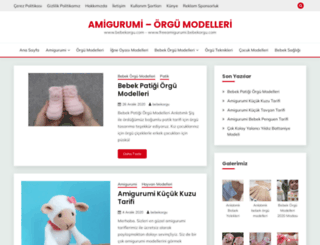 bebekorgu.com screenshot