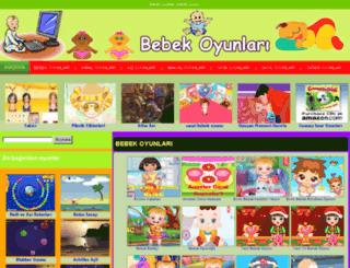 bebekoyunlari.gen.tr screenshot