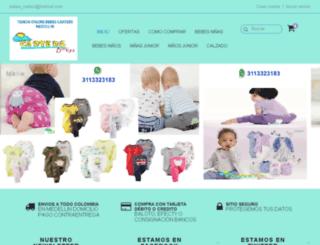 bebescartersmedellin.tiendanube.com screenshot