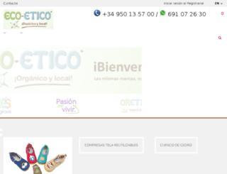 bebesecologicos.es screenshot