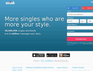 bebo.zoosk.com screenshot
