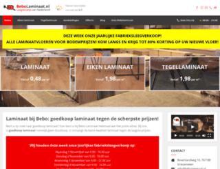 bebolaminaat.nl screenshot