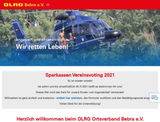 bebra.dlrg.de screenshot