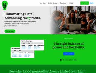 bebroken.littlegreenlight.com screenshot