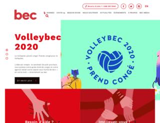 bec-nabs.org screenshot