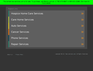 bec-services.com screenshot