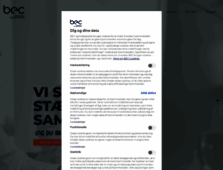 bec.dk screenshot