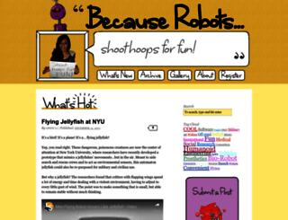 becauserobots.org screenshot