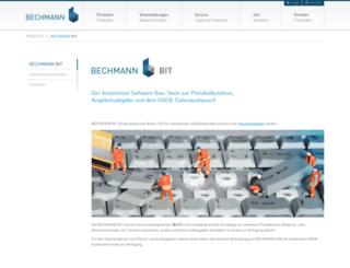 bechmann-easykalk.de screenshot