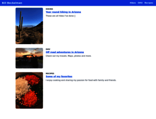 beckelman.net screenshot
