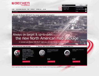beckermappilot.com screenshot