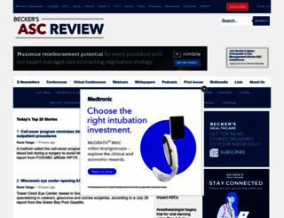 beckersasc.com screenshot