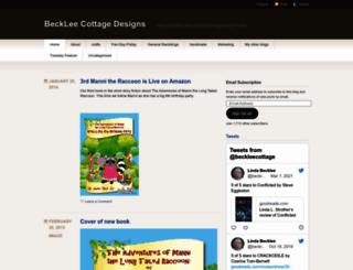 becklee55.wordpress.com screenshot