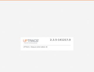 beckmastensouth.uptracs.com screenshot