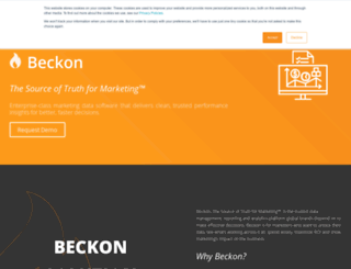 beckon.com screenshot