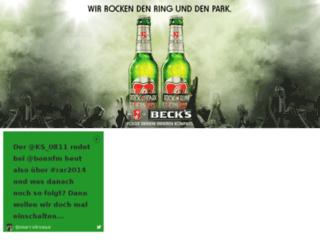 becks.ringrocker.com screenshot