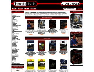 becksdvds.co.uk screenshot