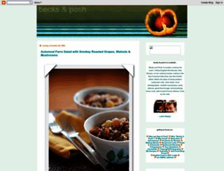 becksposhnosh.blogspot.com screenshot