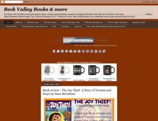 beckvalleybooks.blogspot.com screenshot