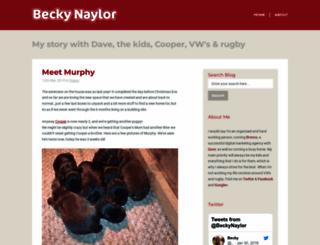 beckynaylor.co.uk screenshot