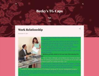 beckystgcaps.blogspot.com.au screenshot