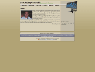 beclawski.com screenshot