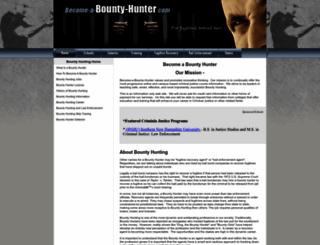 become-a-bounty-hunter.com screenshot