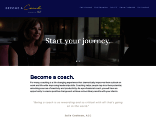 becomea.coach screenshot