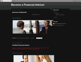 becomefinancialadvisor.blogspot.com screenshot
