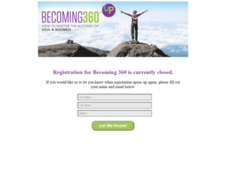 becoming360.com screenshot