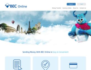 beconline.com.kw screenshot