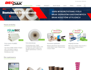 becpak.pl screenshot