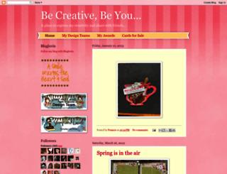 becreativebeyou.blogspot.com screenshot
