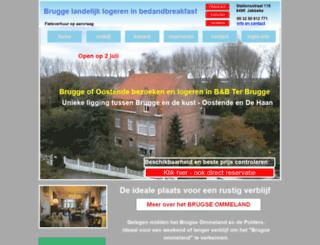 bedandbreakfastbelgie.nl screenshot