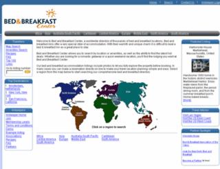 bedandbreakfastcenter.com screenshot