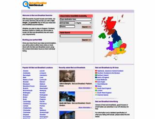 bedandbreakfastsearcher.co.uk screenshot