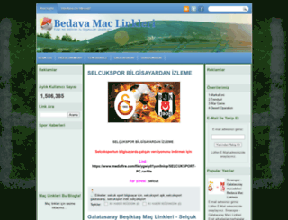 bedavamaclinklerin.blogspot.com screenshot