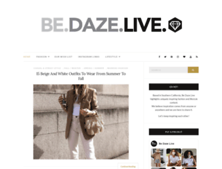 bedazelive.com screenshot