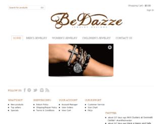 bedazzejewelry.com screenshot