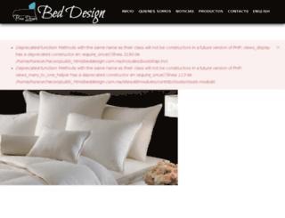 beddesign.com.mx screenshot
