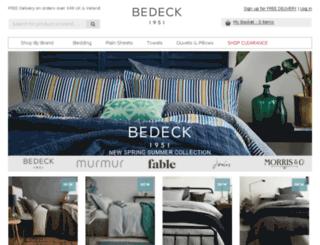 bedeck.co.uk screenshot